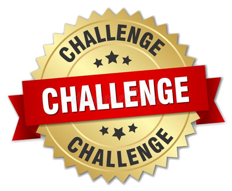 挑战 库存例证