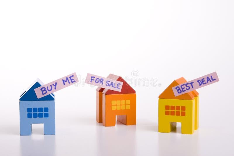挑选房子 免版税库存照片