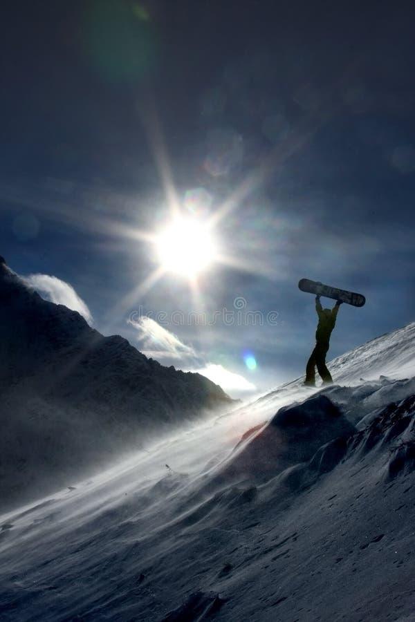 挡雪板 免版税图库摄影