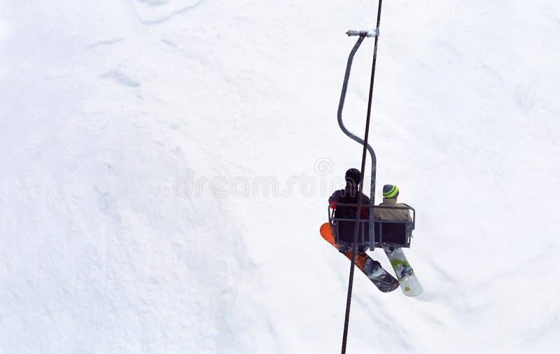 挡雪板 库存照片