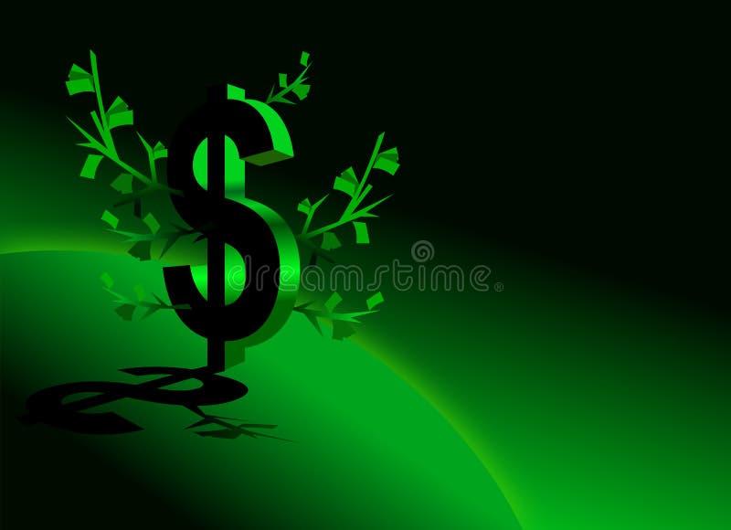 挣货币 向量例证