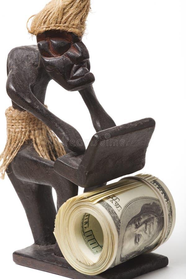 挣货币 库存图片