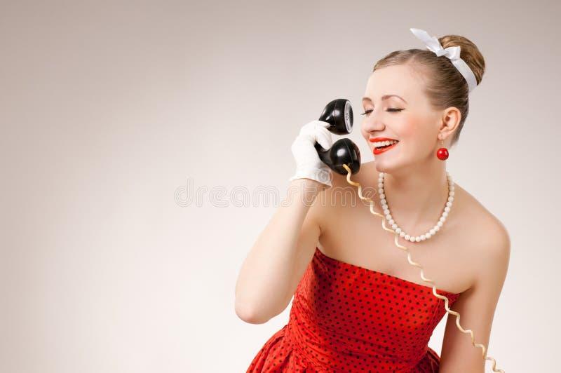 挥动的电话 免版税库存照片