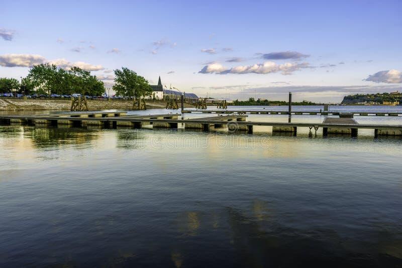 挪威教会,加的夫海湾 免版税库存照片