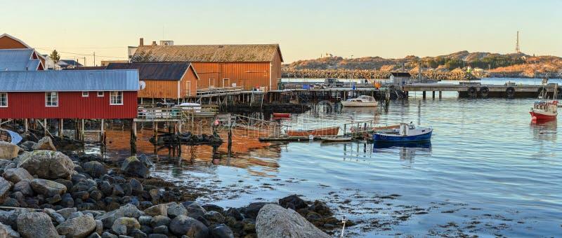 挪威海岸 免版税库存照片