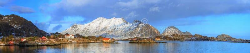 挪威海岸 图库摄影