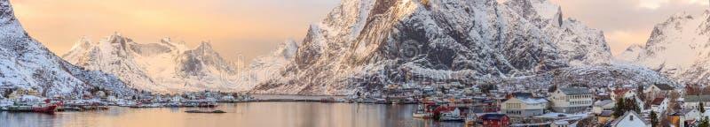 挪威海岸 库存照片