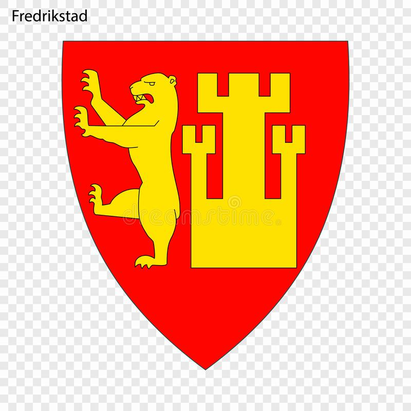 挪威的象征  皇族释放例证
