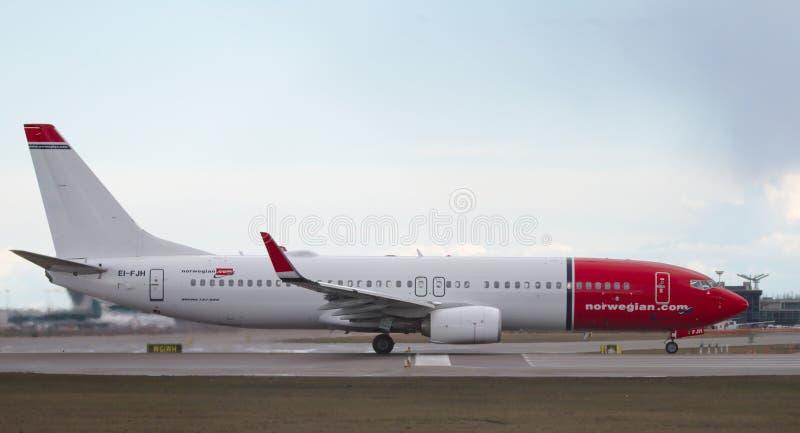 挪威空气 免版税库存图片