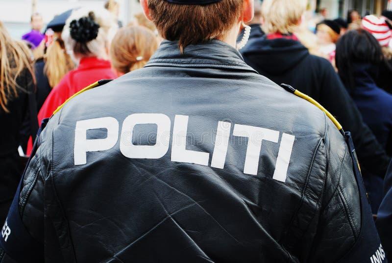 挪威警察 库存图片