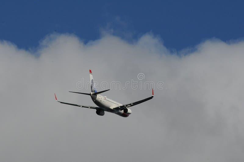 挪威飞行 图库摄影