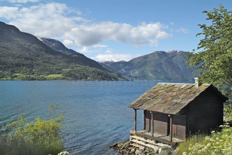 挪威,色泽 免版税库存照片