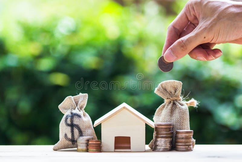 挽救金钱,房屋贷款,抵押, fut的物产投资 免版税库存图片