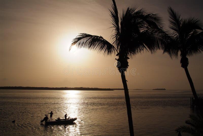 捕鱼佛罗里达 免版税库存照片