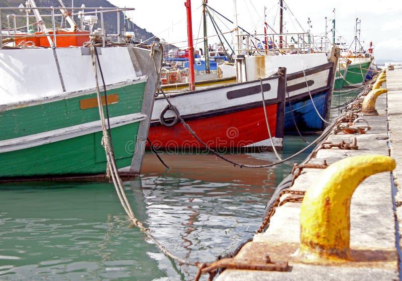 捕鱼拖网渔船 图库摄影