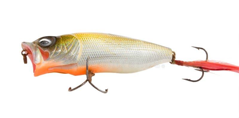 捕鱼的晃摇物 库存照片