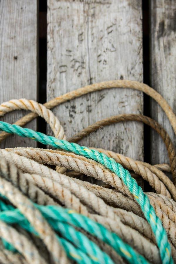 捕鱼网和浮动 免版税图库摄影