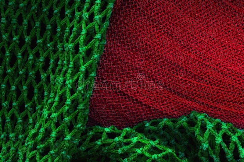 捕鱼网纹理 图库摄影