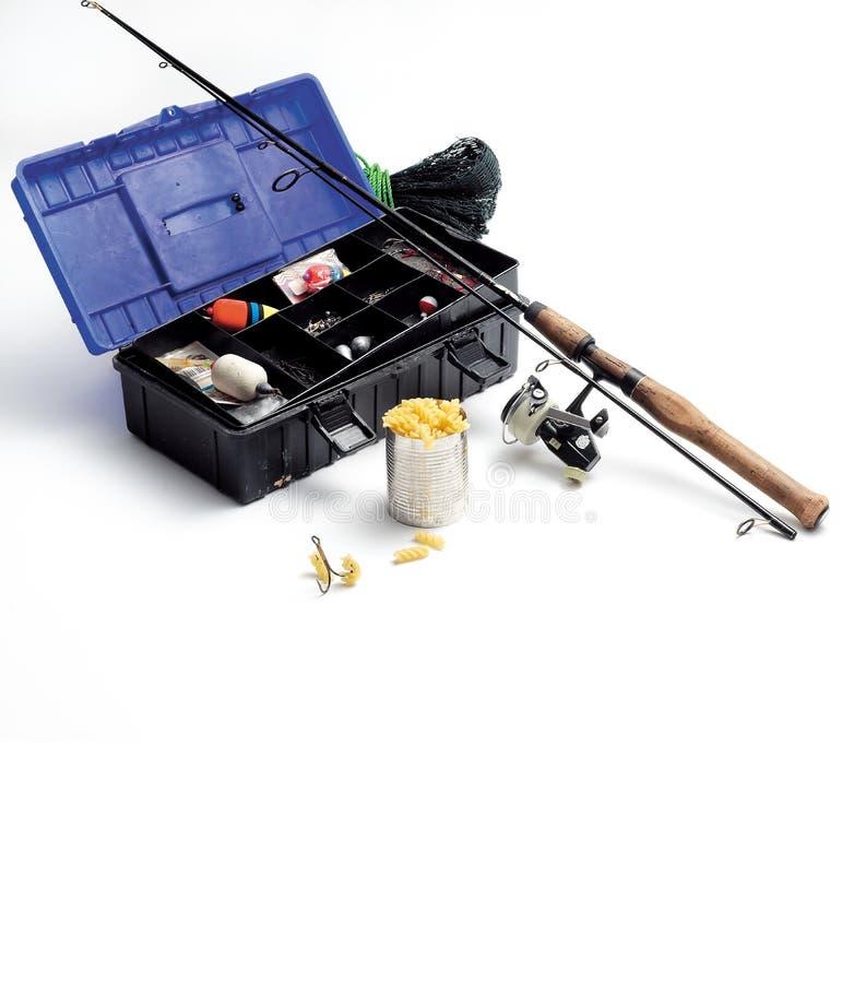 捕鱼设备 免版税库存照片