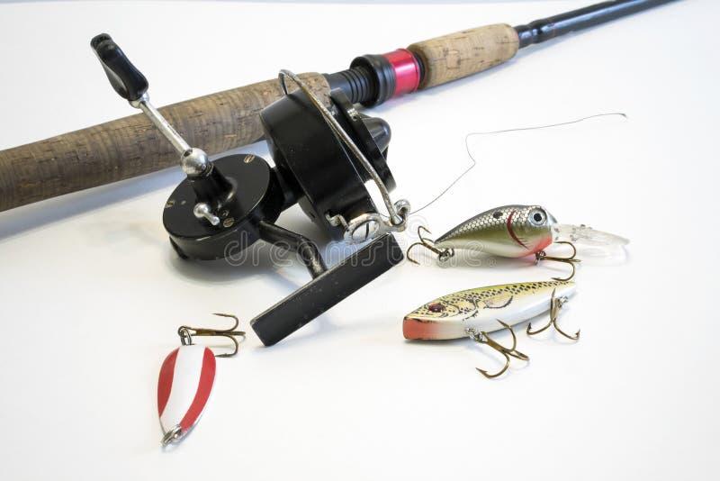 捕鱼设备 库存图片