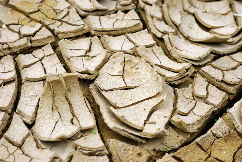 损坏的土壤 图库摄影