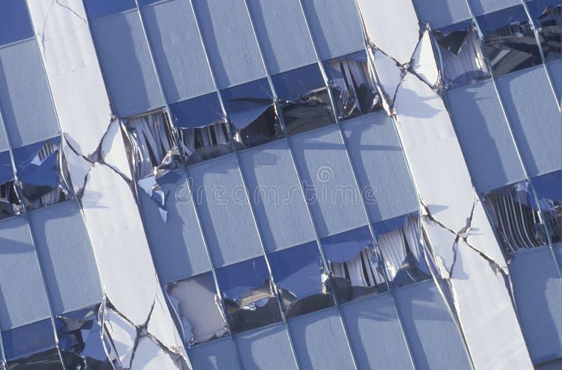 损坏的Kaiser医疗大楼 免版税库存照片