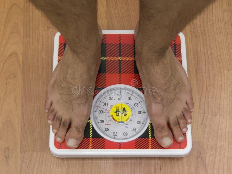 损失重量 免版税库存照片