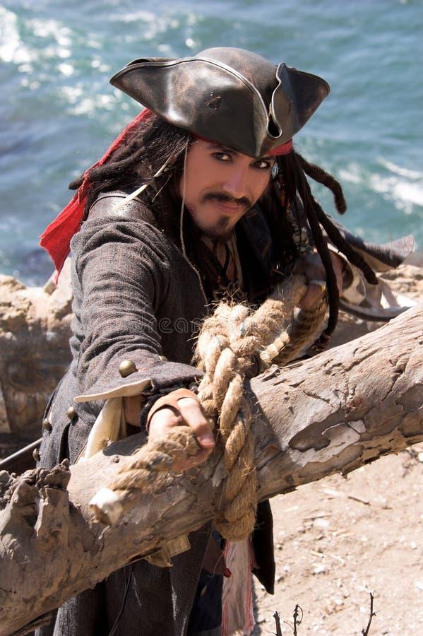 换码海盗 免版税库存图片