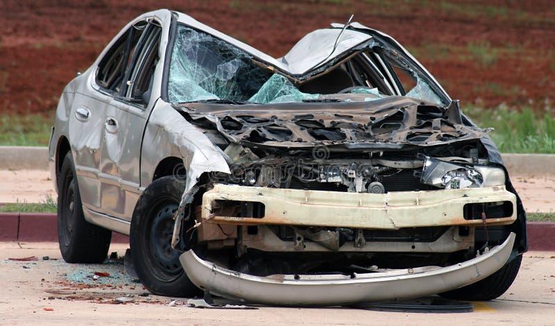 捣毁的汽车 免版税库存图片