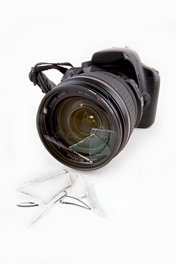 捣毁的透镜 免版税图库摄影