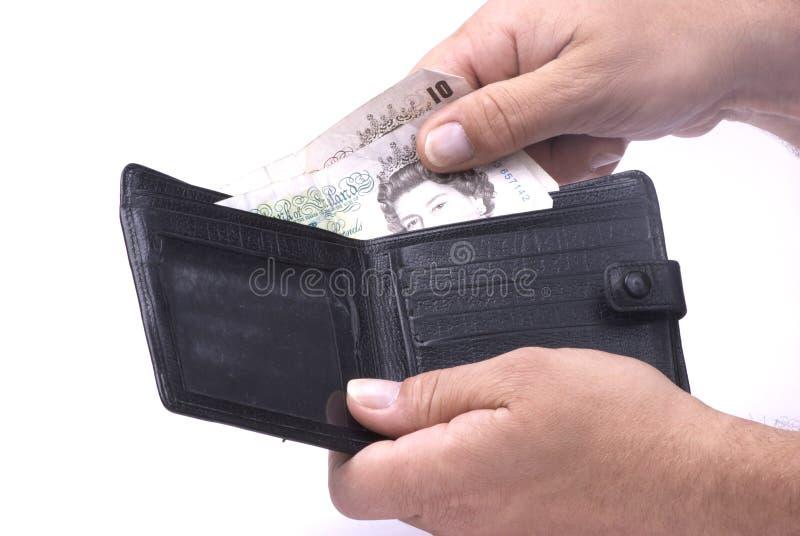 捣钱包 免版税库存图片