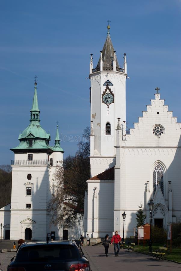 捷克共和国teplice 库存图片
