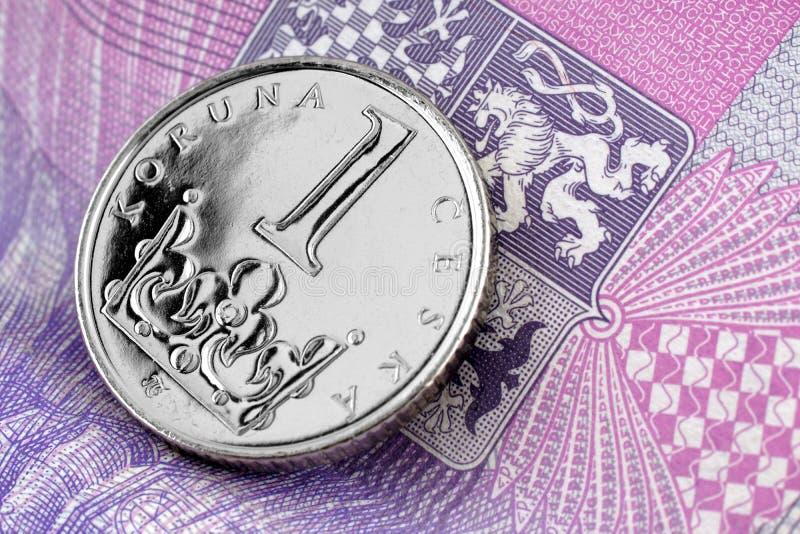 捷克冠 免版税图库摄影