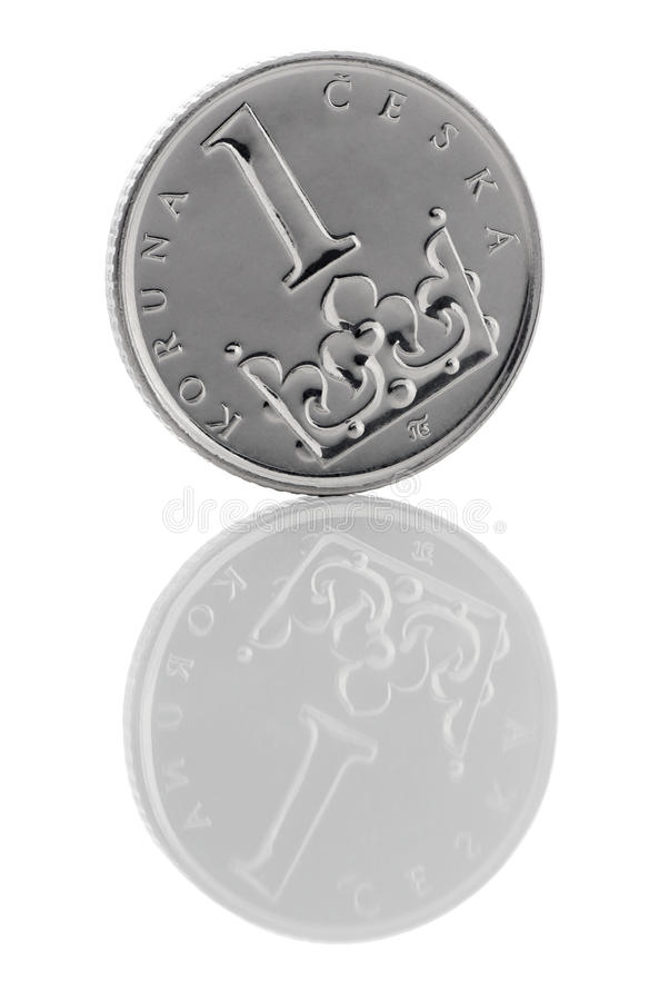 捷克冠 免版税库存照片