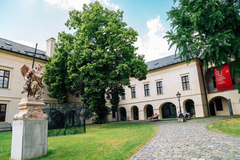 捷克奥洛穆克大教区博物馆 库存照片