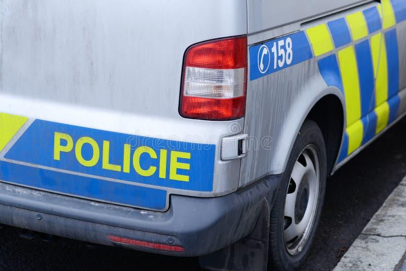 捷克警察 库存图片