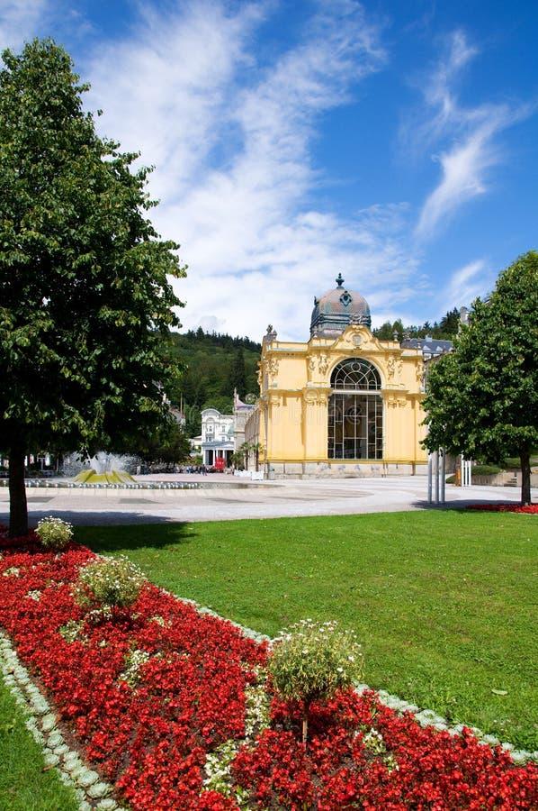 捷克lazne marianske共和国 图库摄影