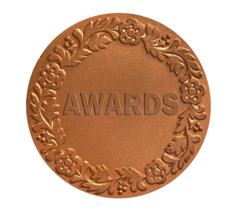 授予的奖牌 免版税库存图片
