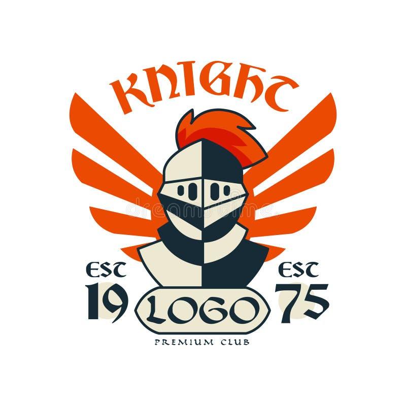 授以爵位商标、优质俱乐部、esc 1975年,葡萄酒徽章或者标签,纹章元素传染媒介例证 向量例证