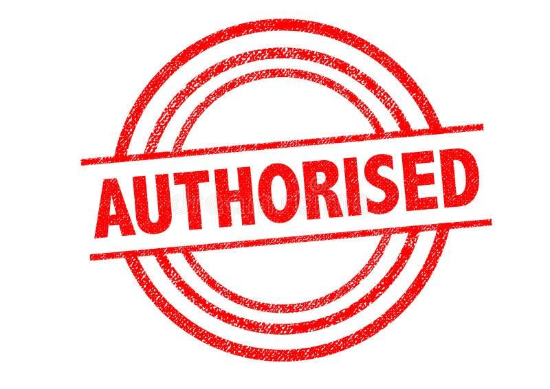 授权不加考虑表赞同的人 库存例证