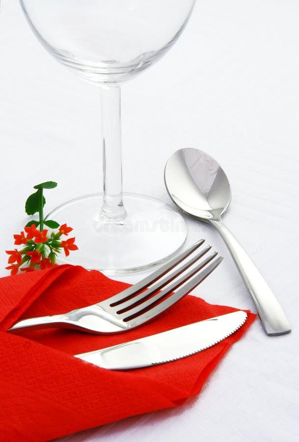 排列正餐 免版税图库摄影