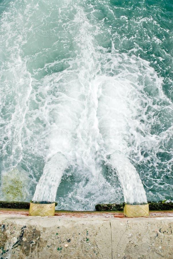 排水管 库存照片