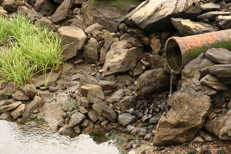 排水管 库存图片
