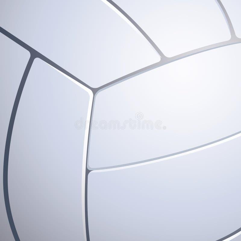 排球纹理 向量例证