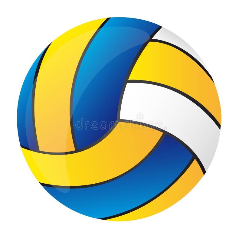 排球 向量例证