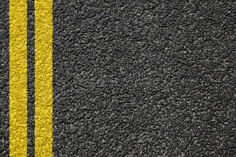 排行路纹理 免版税图库摄影