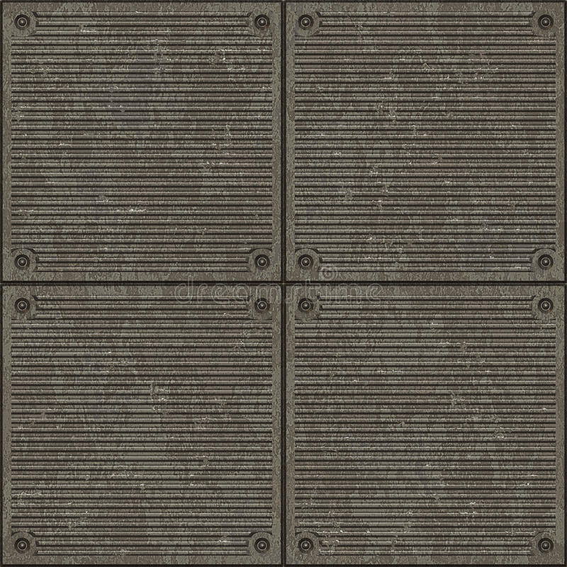 排行路面无缝的纹理 库存例证