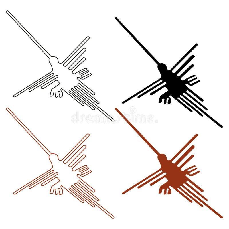 排行nazca 库存例证