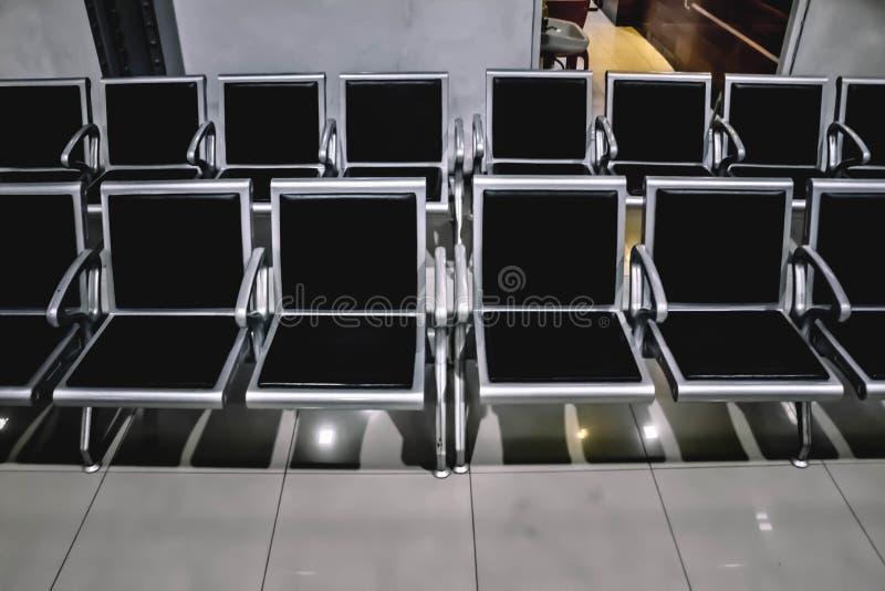 排队的位子 免版税库存图片