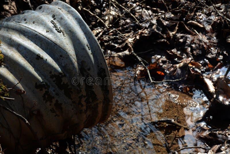 排水设备 免版税库存图片